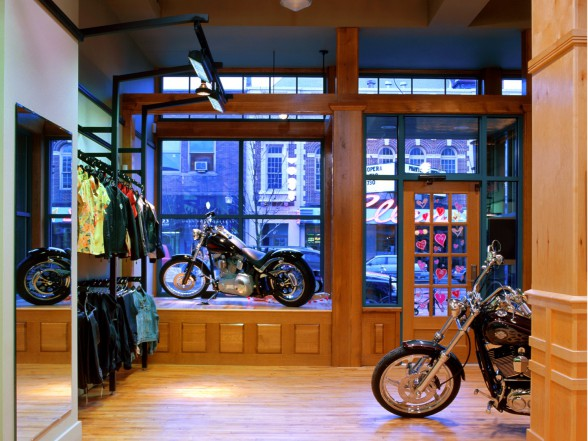 E Main Harley Davidson Showroom