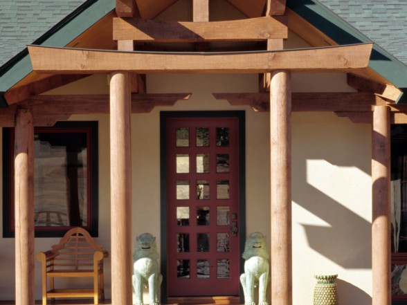 Asian Style Entry Way